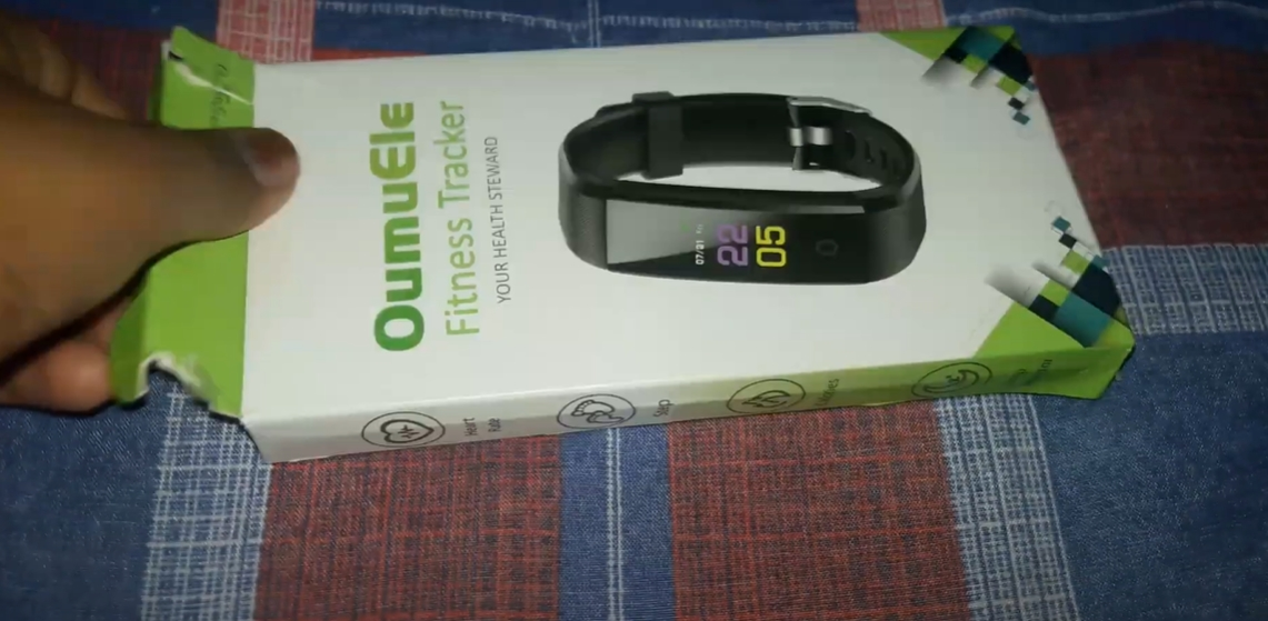 Oumuele Fitness Tracker review