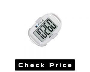 3D Fit Buds Simple Step Counter Walking Pedometer