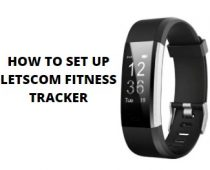How To Set up Letscom Fitness Tracker